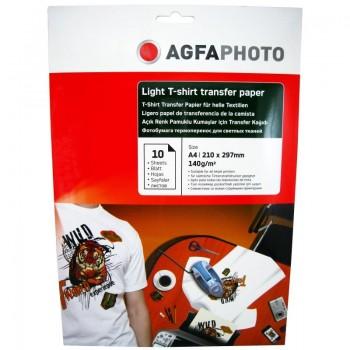Hartie de transfer termic Agfa A4, 140 g/mp - LIGHT T-SHIRT