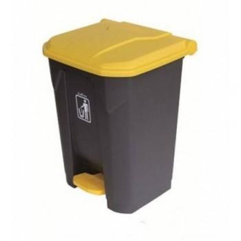 Cos gunoi din plastic cu pedala 60L