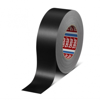 Banda textila standard de PE Tesa 4688, 50x25, neagra