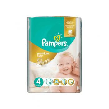 Pampers premium ca4 maxi 18buc
