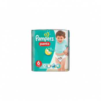 Pampers pants cp s6 19buc