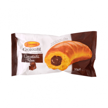 Croissant Ciocolata Si Rom 50gr Boromir