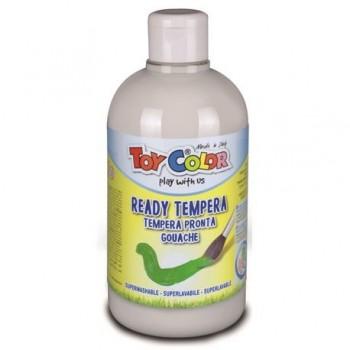 Tempera superlavabila Toy Color, 250 ml, alb
