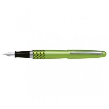 Stilou Pilot MR Retro Pop, corp metalic, verde