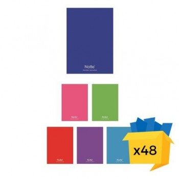 Caiet Notte School, A4, capsat, 60 file, dictando-matematica, 48/bax, dictando