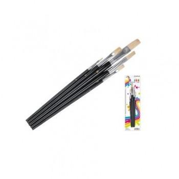 Set pensule din par natural, 5 bucati/set