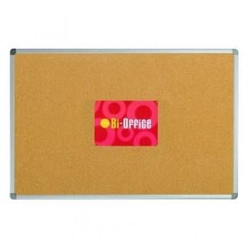 Panou de pluta Bi-Silque, rama din plastic, 90 x 120 cm