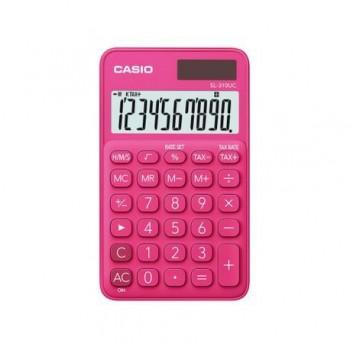 Calculator portabil Casio SL-310UC, 10 digits, rosu