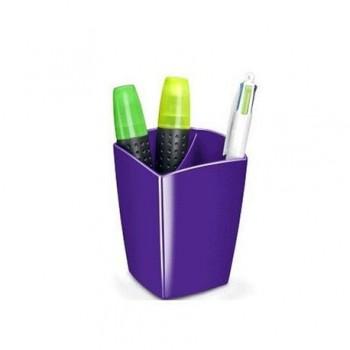 Suport instrumente de scris CEP Gloss, mov