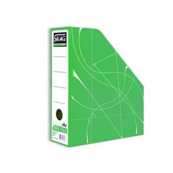 Suport vertical documente Skag, verde