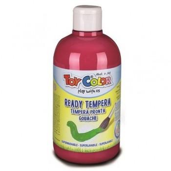 Tempera superlavabila Toy Color, 250 ml, rosu