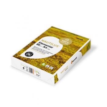 Hartie copiator, Nautilus Elemental, A4, 80gr/mp, 500 coli/top