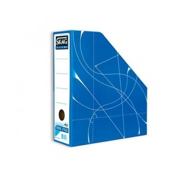 Suport vertical documente Skag Fancy, bleu