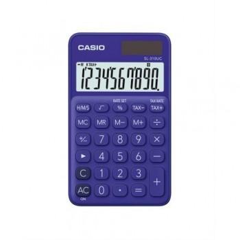 Calculator portabil Casio SL-310UC, 10 digits, violet