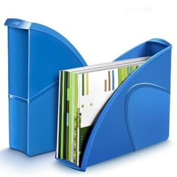 Suport vertical documente CEP Gloss, albastru