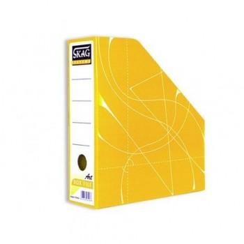 Suport vertical documente Skag, galben