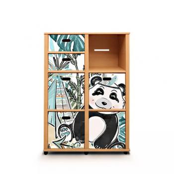 Etajera Cu Sertare Double Modo Panda