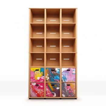 Biblioteca Cu Sertare Trouble Modo Artist