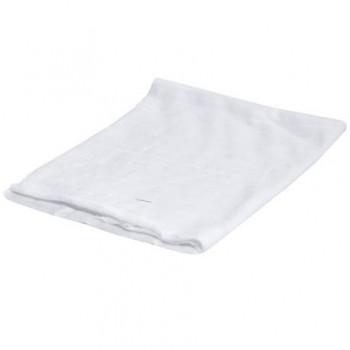 Laveta din bumbac, 30 x 40 cm, alb, 100 buc/set