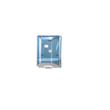 Dispenser ABS, pentru rola prosop, derulare centrala, Transparent