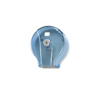Dispenser ABS, pentru hartie igienica, Mini Jumbo, Transparent
