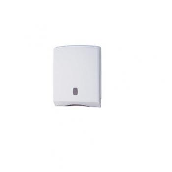 Dispenser manual ABS, pentru servetele pliate, 500 portii, Alb