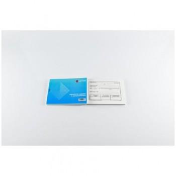 Dispozitie de casierie, A6, hartie autocopiativa, 50 set/carnet, coperta carton 300 g/mp
