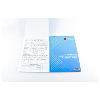 Foi parcurs marfa, A5, 100 file/carnet, coperta carton 300 g/mp