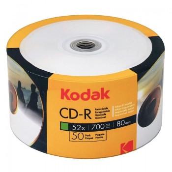 CD-R Kodak full printabil, 700MB, 52x, 50 buc