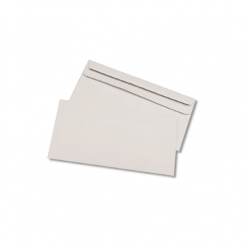 Plic DL, 110 x 220 mm, alb, traditional, 25 bucati/set