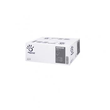 Servetele pliate V, albe, 2 straturi, 266 buc/pachet, 15 pachete/bax