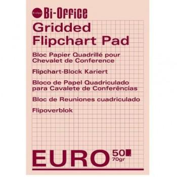 Hartie flipchart caroiata, 70 gr/mp, 50 coli/top, 5 buc/bax