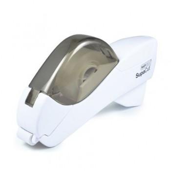 Dispenser automat banda adeziva Rapesco Supacut, alb