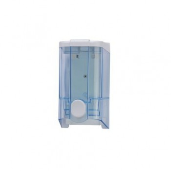 Dispenser manual ABS, transparent, pentru sapun lichid, 1L