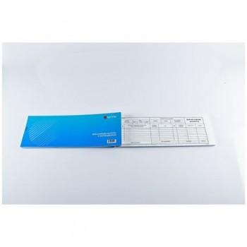Bon de consum A5, 2 exemplare ,hartie autocopiativa, 50 seturi/carnet, coperta carton 300 g/mp