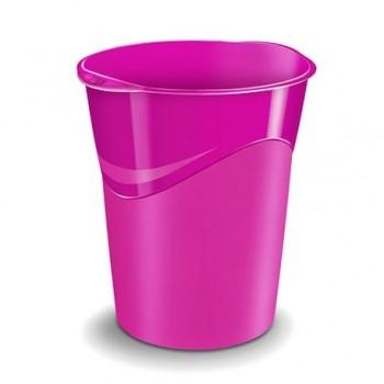 Cos de birou CEP Gloss 14 l, roz