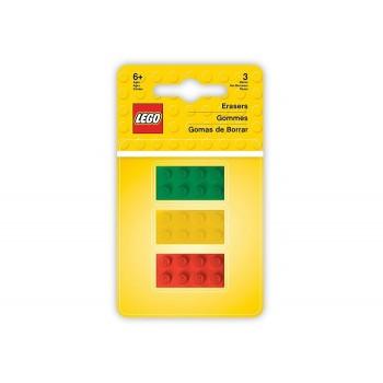 Set 3 radiere LEGO   (51158)