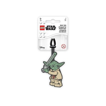 Eticheta bagaje LEGO Star Wars Yoda (52222)