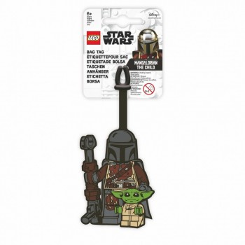 Eticheta bagaje LEGO Star Wars Mandalorianul ?i Copilul