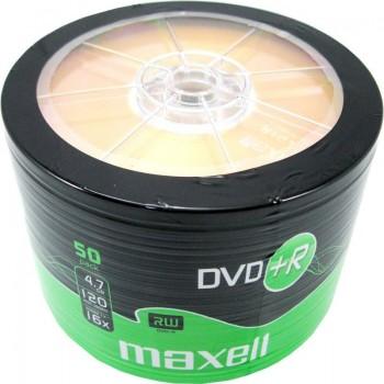DVD+R Maxell, 4.7GB, 16x, 50 buc