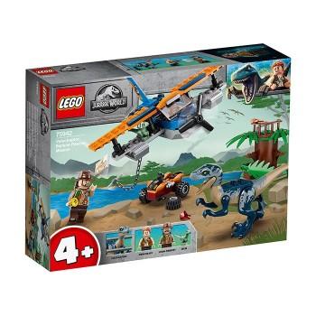 Velociraptor: misiunea de salvare cu biplanul (75942)