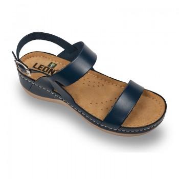 Sandale Leon 920 albastru - dama