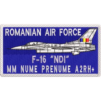 ECUSON NOMINAL FORTE AERIENE F16 | ECUSON NOMINAL AVIATIE
