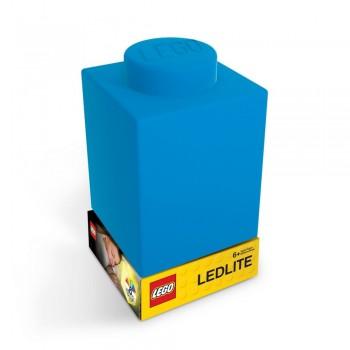 Lampa Caramida LEGO albastra