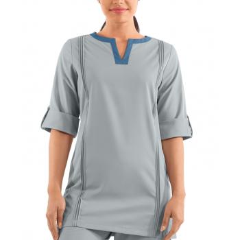 Bluza medicala   3 4 sleeve tunic   (UD342112)
