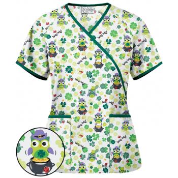 Bluza medicala 'Lucky Owl' (H668WOL)