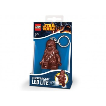 Breloc cu lanterna LEGO Star Wars Chewbacca  (LGL-KE60)