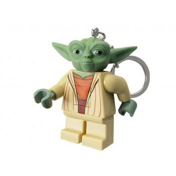 Breloc cu LED LEGO Star Wars Yoda