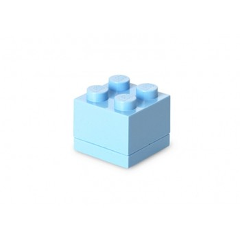 Mini cutie depozitare LEGO 2x2 albastru deschis (40111736)