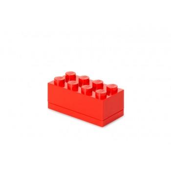 Mini cutie depozitare LEGO 2x4 rosu (40121730)